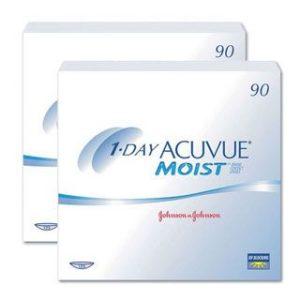 1-Day Acuvue Moist 2x90 Stück Kontaktlinsen von Johnson &