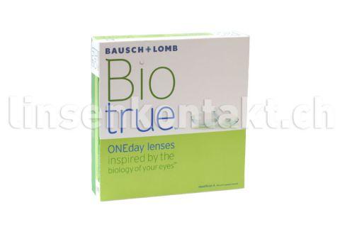 Biotrue ONEday, 90 Stück Kontaktlinsen von Bausch & Lomb