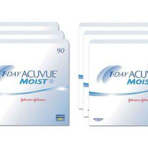 1-Day Acuvue Moist 2x270 Stück Kontaktlinsen von Johnson &