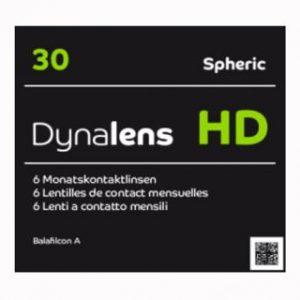 Dynalens 30 HD Toric, 6 Stück Kontaktlinsen von Dynoptic