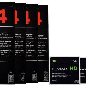 Halbjahres-Sparpaket, Dynalens 30 HD Toric, 2 x 6 Stück
