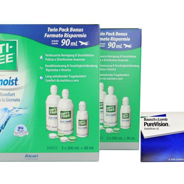 PureVision Kontaktlinsen von Bausch&Lomb & Opti Free Pure
