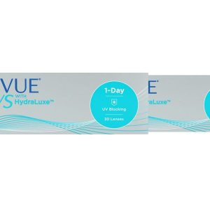 Acuvue Oasys 1-Day for Astigmatism with HydraLuxe, 2×30 Stück