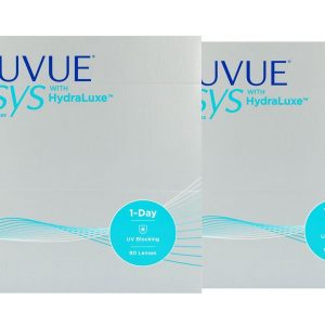 Acuvue Oasys 1-Day for Astigmatism with HydraLuxe, 2×90 Stück