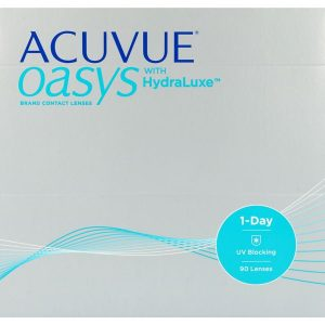 Acuvue Oasys 1-Day for Astigmatism with HydraLuxe, 90 Stück